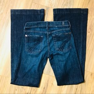 7 For all mankind Dojos jean size 24